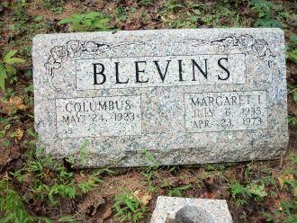 Margaret (Stokes) Blevins Grave, West Virginia