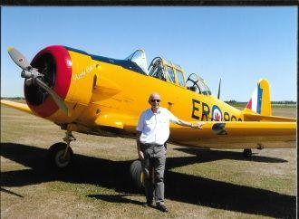 Harvard 11B Aircraft Duxford Museum