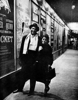 Ossie Davis and Ruby Dee.