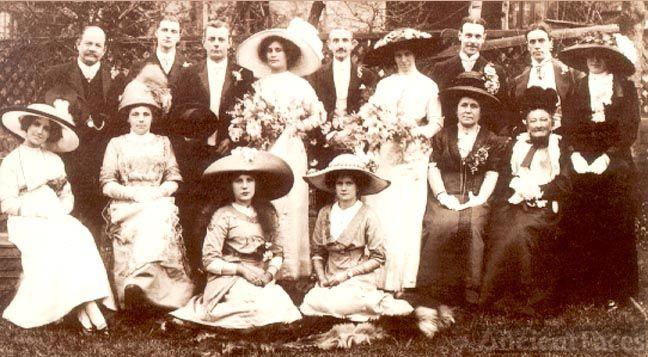 Family Wedding 1912