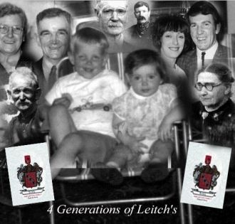4 Generations of the Leitch Family