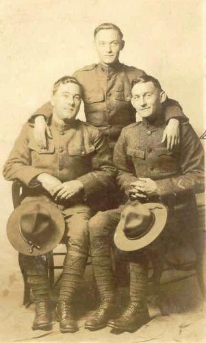 Harry Whitby & WW1 buddies