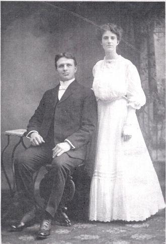 Ira Abraham Summers & Flossy Ivonne Shady wedding 1906
