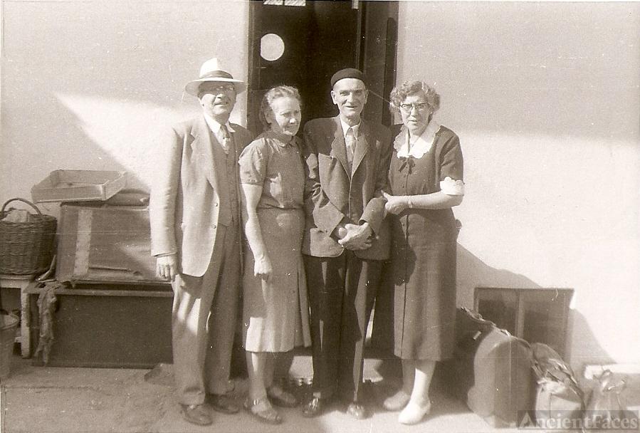 Joseph Bartosh 1957 trip