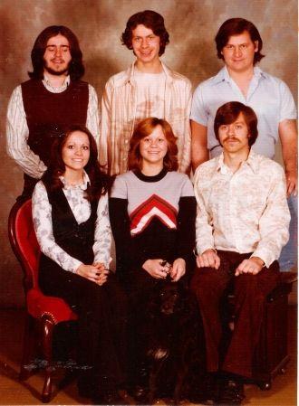 Timothy Treharn and Treharn Siblings 1970