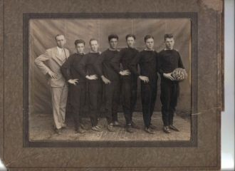 Basketball team, 1928