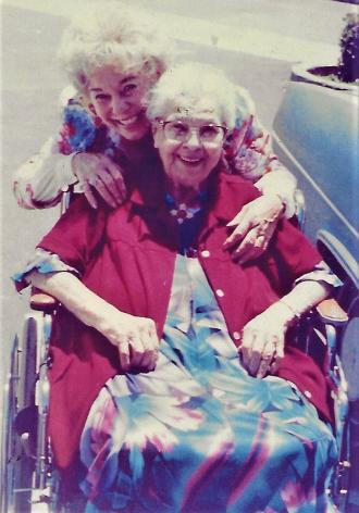 Vera Peregrine with Daughter Joy