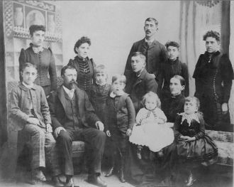 Silas and Emma Lewis Sheppard's Family