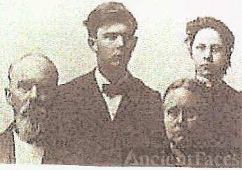 Zenas Frost, Mary L. Patton, & Family