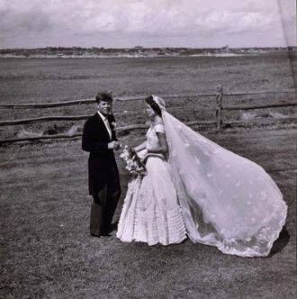 A photo of Jacqueline Lee (Bouvier) Kennedy