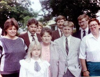 Anna Boone Family, WI