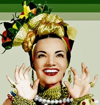A photo of Carmen Miranda