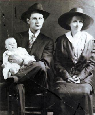 Frank, Sallie & Lucille Norris