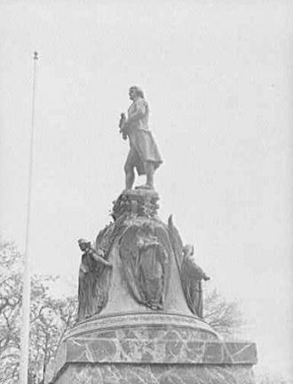 Statue of Jefferson, Virginia