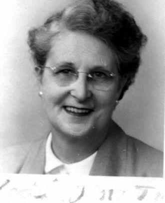Sadie Matheson , ca 1940