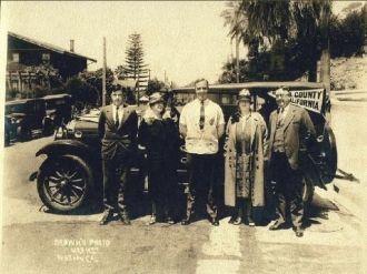 John Hyde Chaffee family 1927