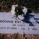 Donnie Ray Shipman Marker: Apple Hill Cemetery