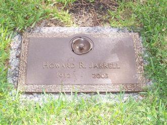 Grave marker for Howard Raymond Jarrell