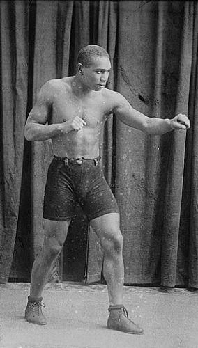 Boxer George Robinson