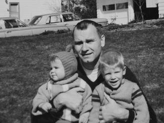 Kenrick C Palmer & children