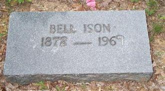 Bellw Boggs Ison headstone