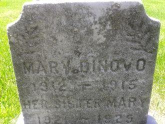 Mary DiNovo gravesite
