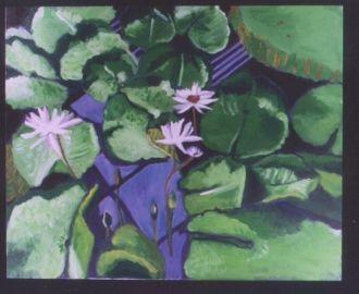 Yvette Raderman's water lillies