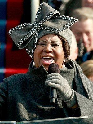 Aretha Franklin, Inauguration
