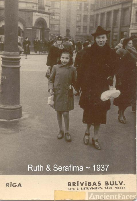 Ruth Dembo & Serafima Dembo
