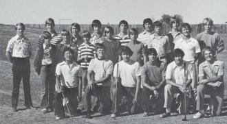 1977 Pomona High School Golf Team