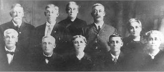 John Jacob and Harriet Poister Family