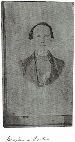 GreatX3 grandfather, Benjamin J. Porter