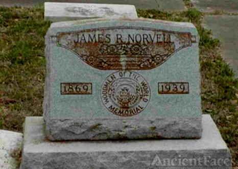 James Robert Norvell's Headstone