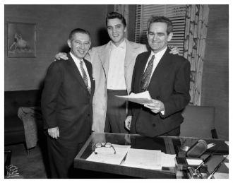 Nathan Lefkowitz, Elvis, and Harry Kalcheim