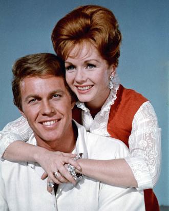 Harve Presnell and Debbie Reynolds