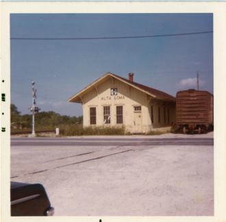 Alta Loma railroad depot