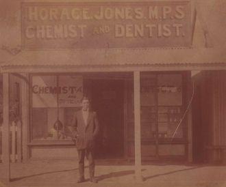 Dr Ferdinand Krauss outside his Dentist Practice