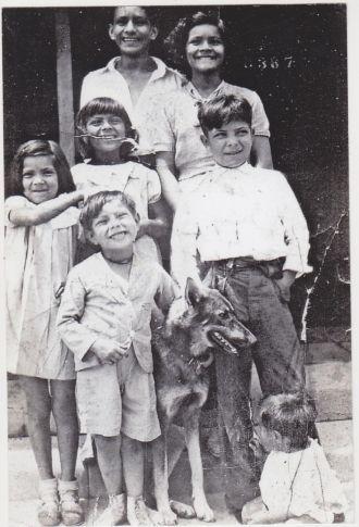 Gutierrez kids 1930s