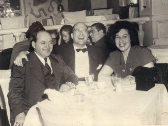 Harry and Frieda Fleischmann, Abe Burrows