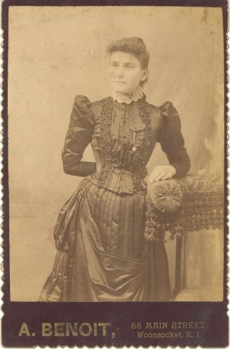 Unknown woman, Rhode Island