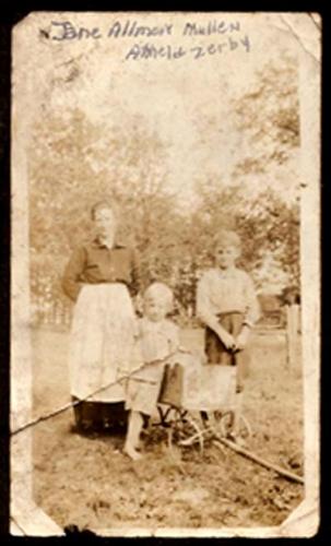 Sarah Jane ALLMON Mullen Family