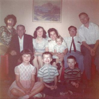 Stawnychka family gathering