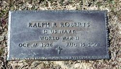 "Ralph Rainey ""Rooster"" Roberts"