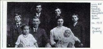 Family of Edward Myers & Mary Ebie