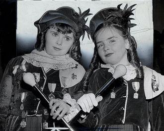 Josephine Barrett and Madeline Ryan