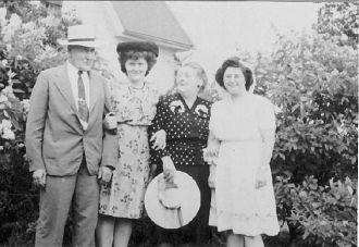 Adolph Stockford and Lucy Hannigan Stockford, daughters Mary Ann [Marinine] & Bernice [Bernie] -Lawrence, MA