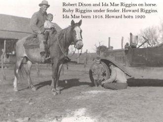 Robert Dixon & Riggins Family