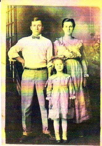 Lewis Rolla and Delia Beltz Vaughn