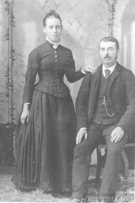 Emma Shaw & Wm F. Waugh Wedding