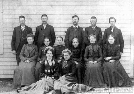 Lucy Caroline Beard Amsberry Family